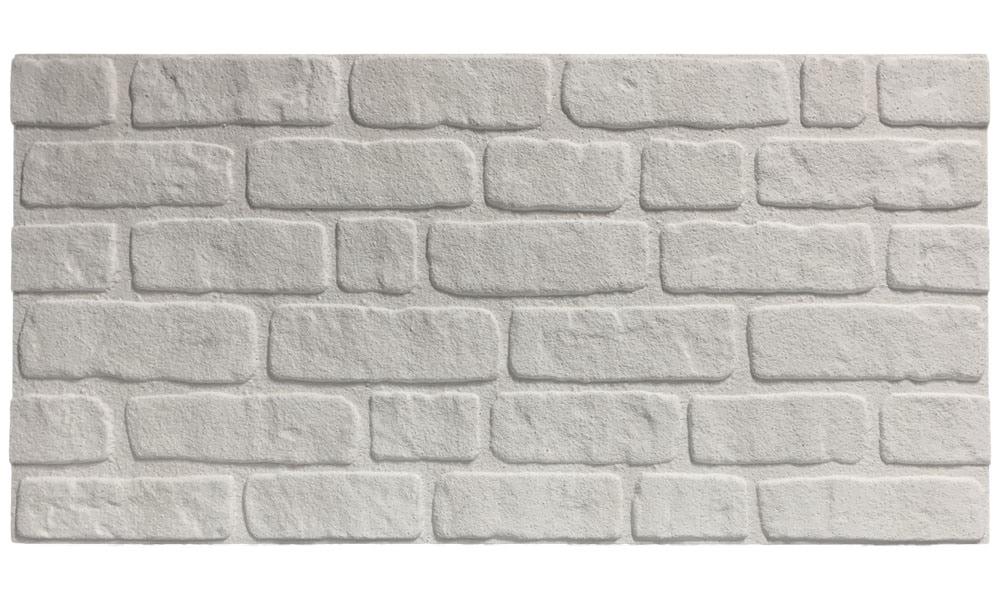 Wandverkleidung Backsteinoptik ST White