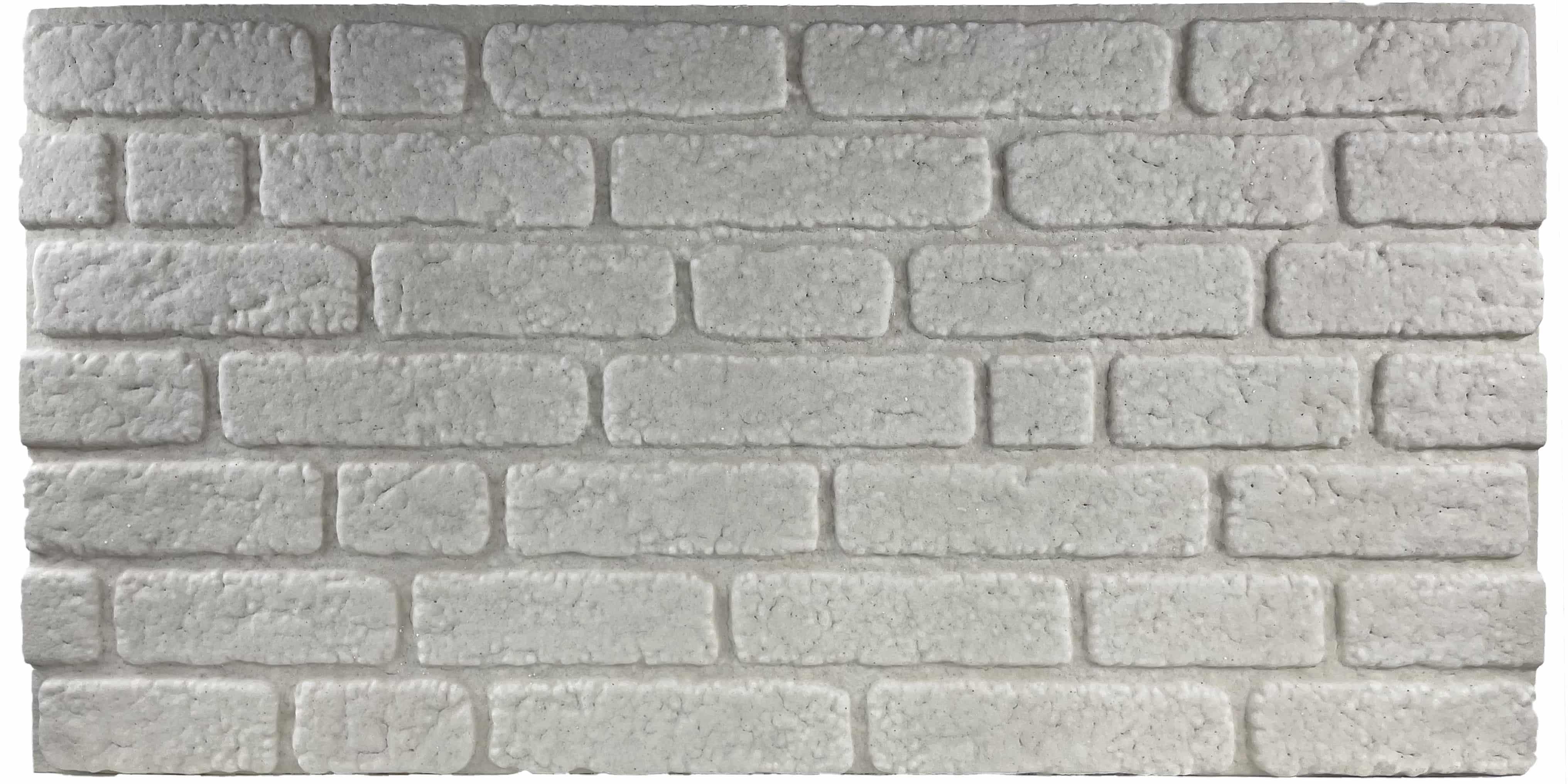 Wandverkleidung Backsteinoptik 351-White