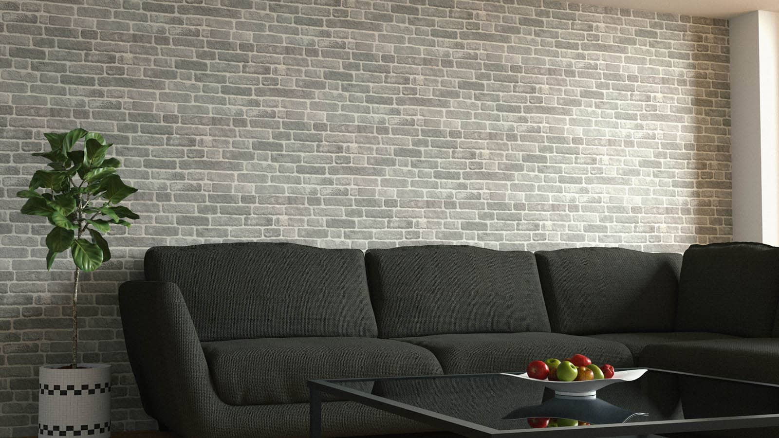 Wandverkleidung Backsteinoptik 351-128