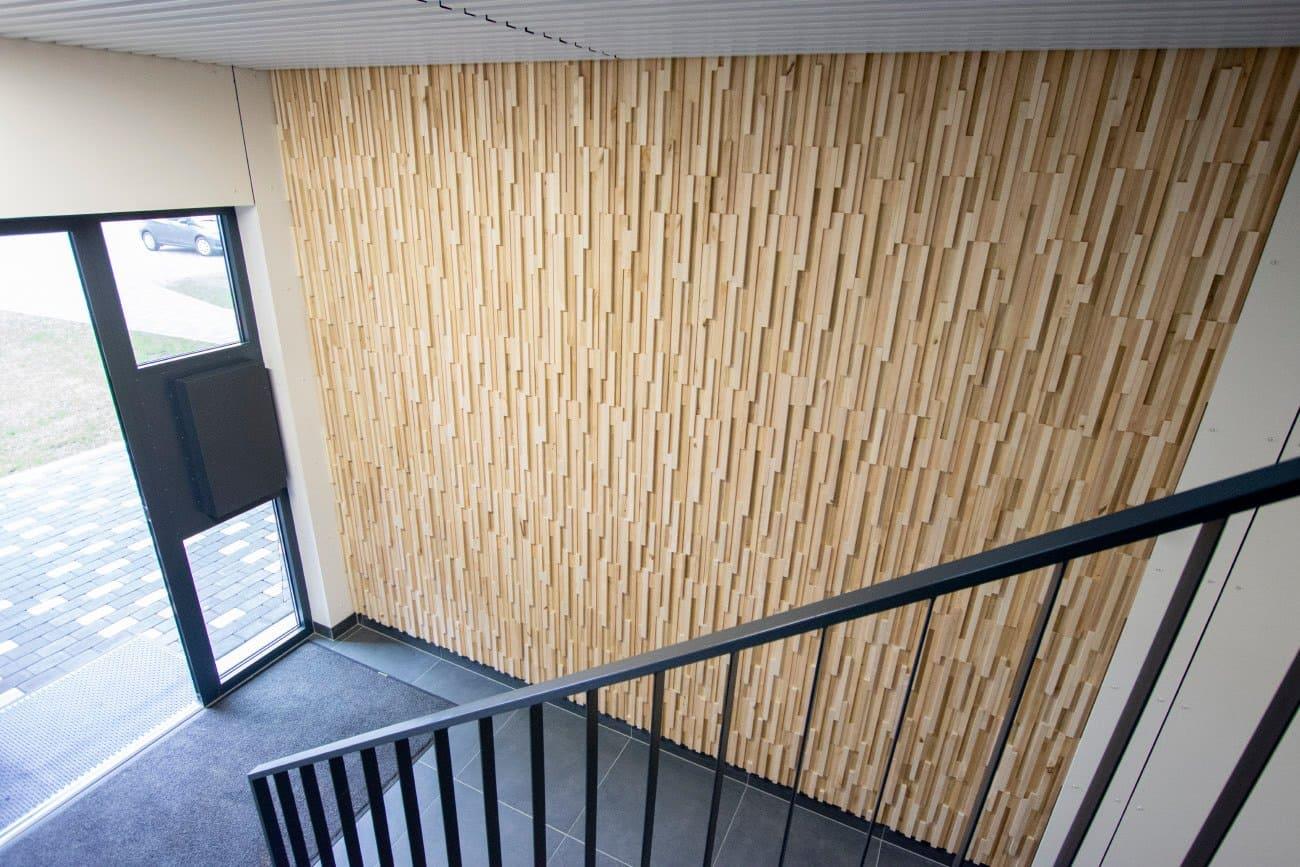 Wandpaneel Holz Fractus