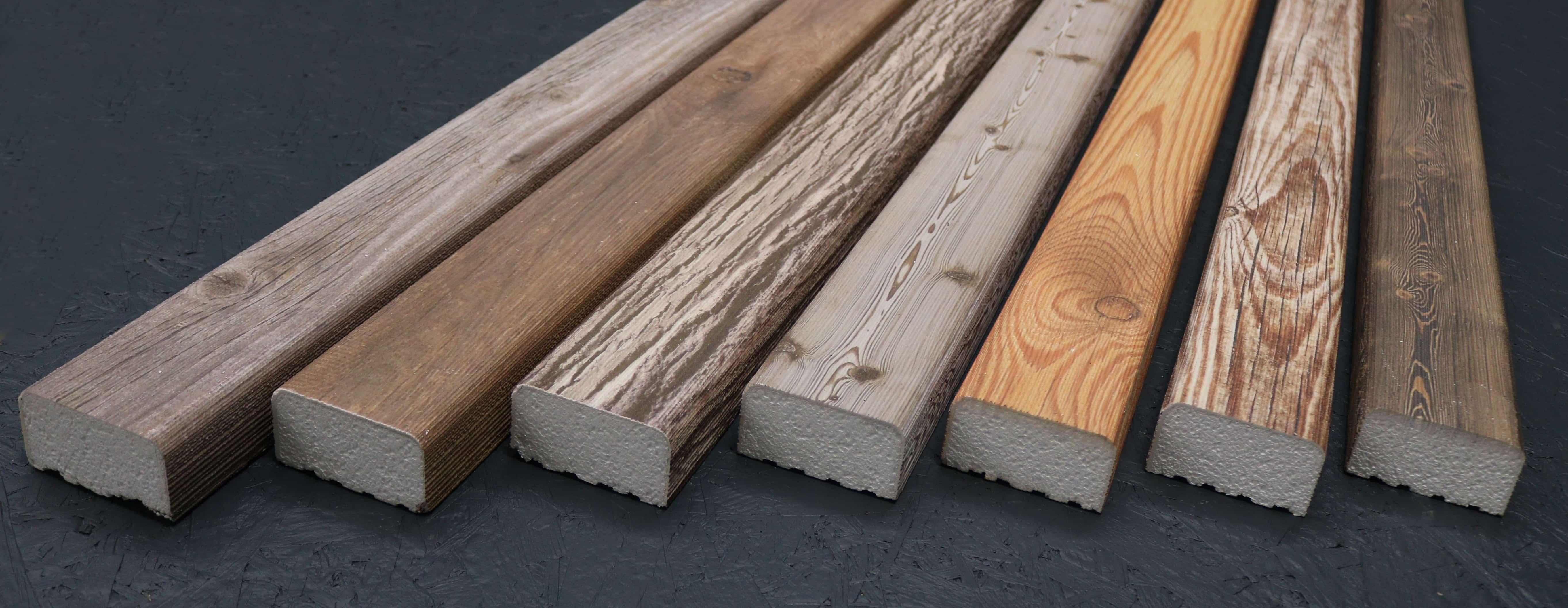 Kantholz/Holzpfosten Styropor Amsterdam 9cm x 5cm