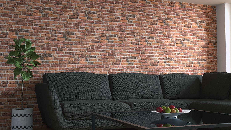 Wandverkleidung Backsteinoptik 351-111