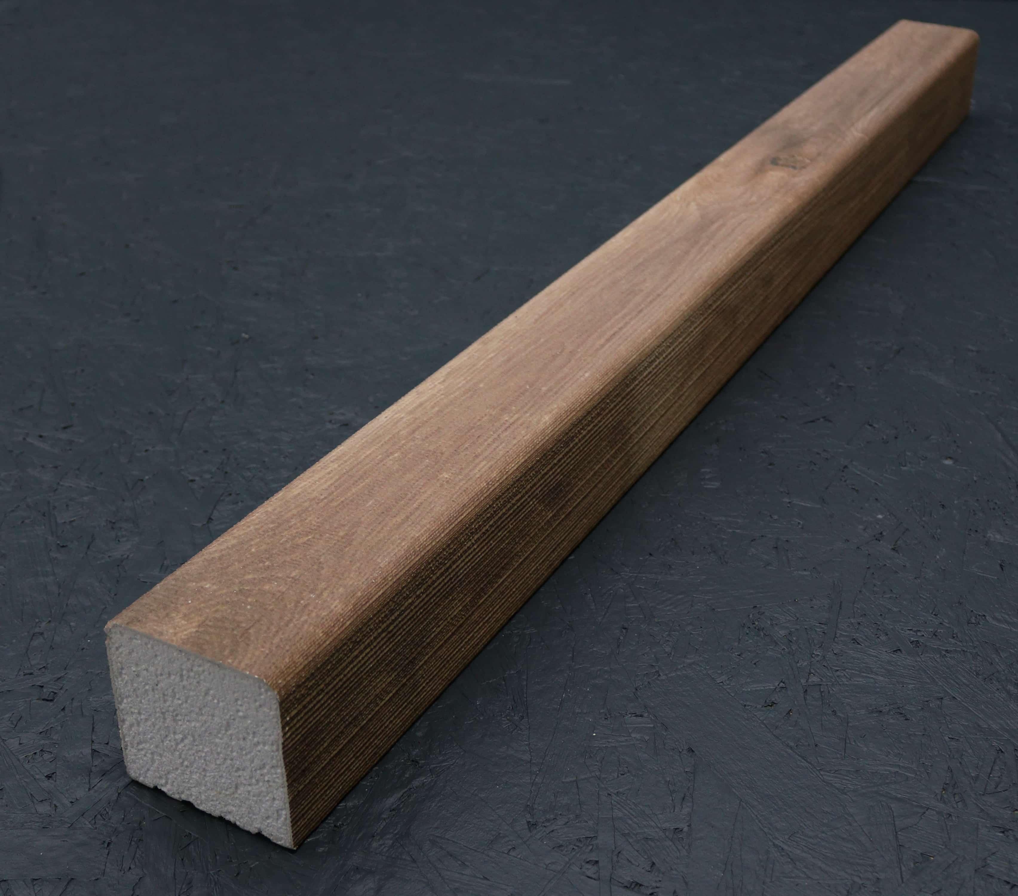 Kantholz/Holzpfosten Styropor Amsterdam 9cm x 9cm