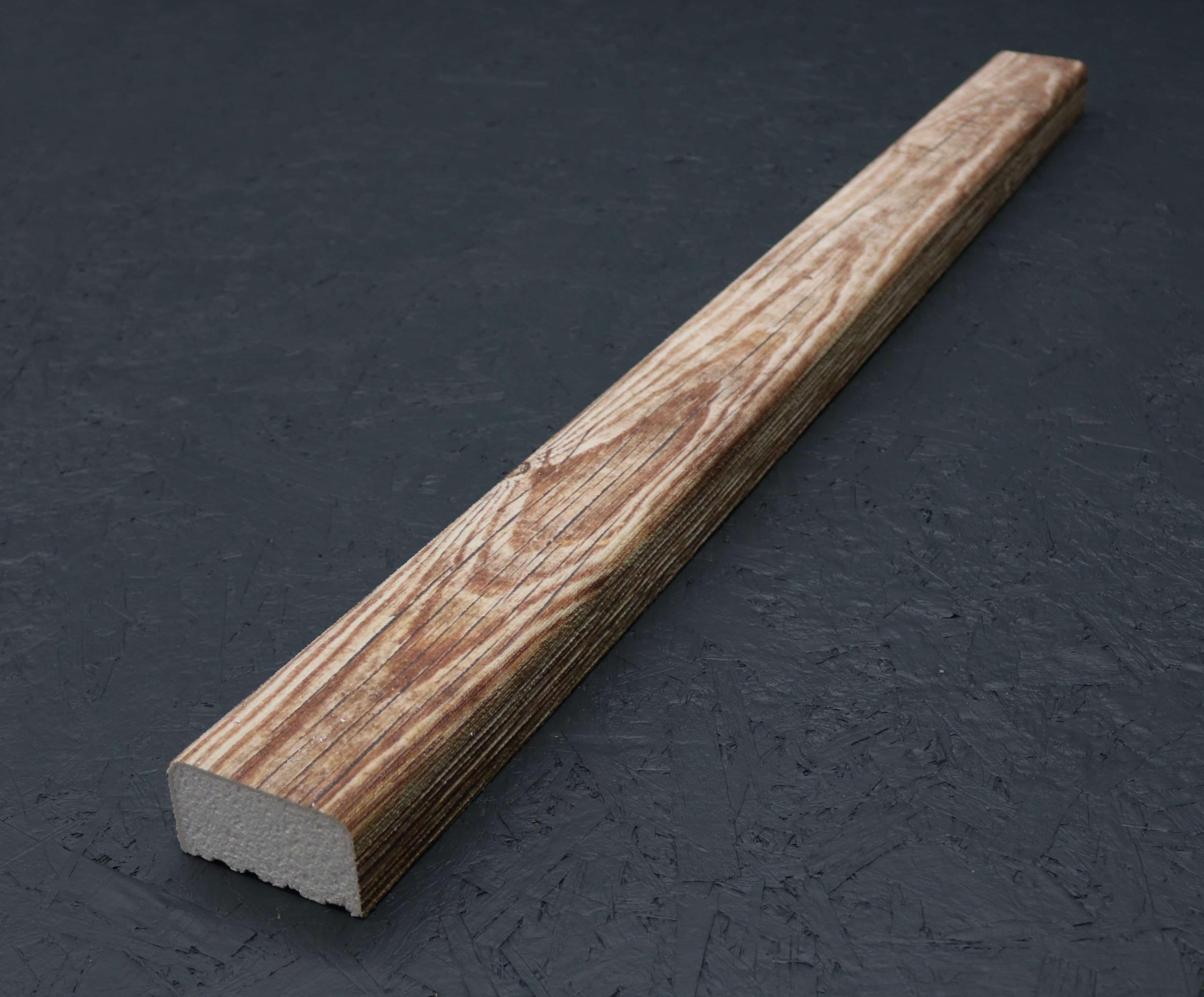 Kantholz/Holzpfosten Styropor New York 9cm x 5cm